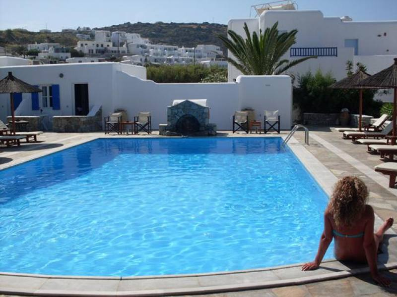 Appartementen Anemos - Ornos - Mykonos
